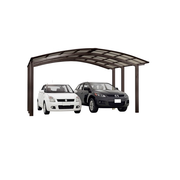 Ximax Carport Portoforte Typ 80 M-Ausführung Mattbraun