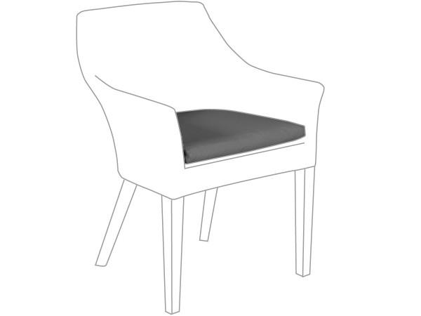 Sitzkissen Outdoor für Sessel Tortuga