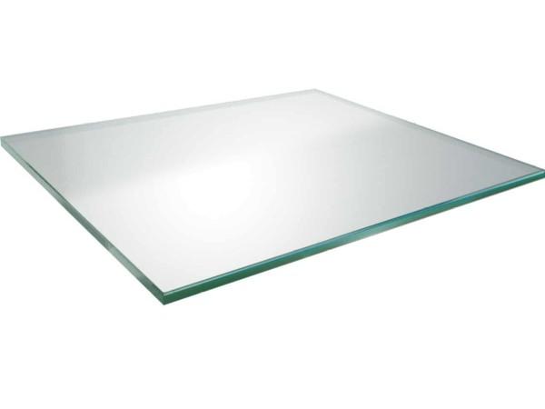 MBM Glasplatte Loungetisch Madrigal Tobacco 60 x 87 cm