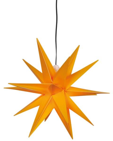 LED Weihnachtsstern, Größe Ø 250mm, gelb