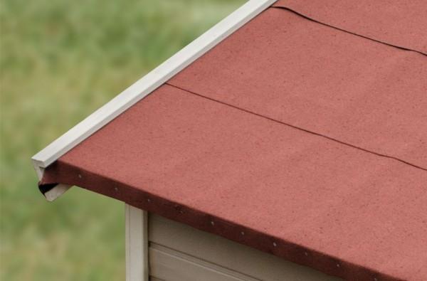 Selbstklebende Bitumen-Dachbahnen, rot