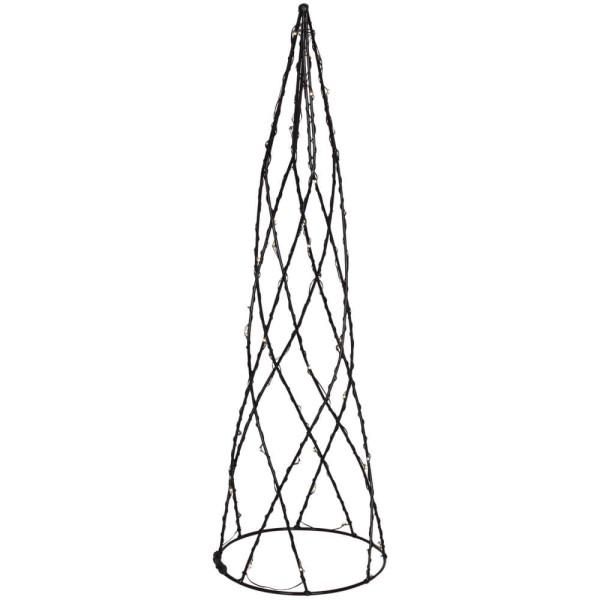 Best Season Pyramide HELIX, warmweiße LEDs