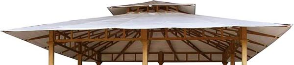 Ploß Ersatzdach für Luxus-Pavillon SEMARANG