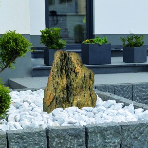 Gardenforma Wasserspiel-Findling Ancient Stone - Kalkstein - Komplettset