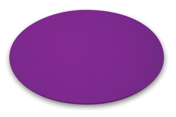 Moree Bubble Filz-Kissen, Ø 40 cm, violett