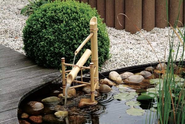 Ubbink Wasserspiel Bamboo aus Naturbambus