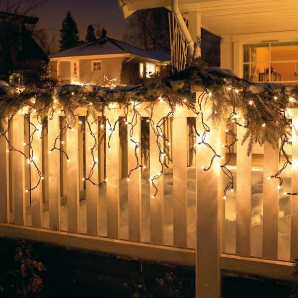 LED-Vorhang, 100 superwarmweiße LEDs Starter