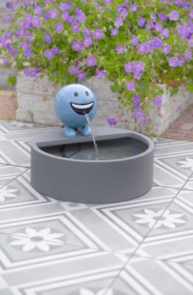 Ubbink Wasserspiel BE HAPPY, blau