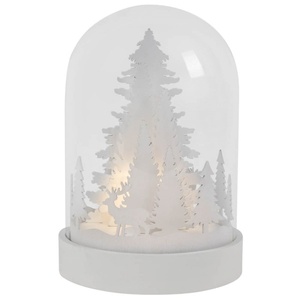 Best Season LED-Glocke KUPOL, 3 warmweiße LEDs, Ø 12 cm