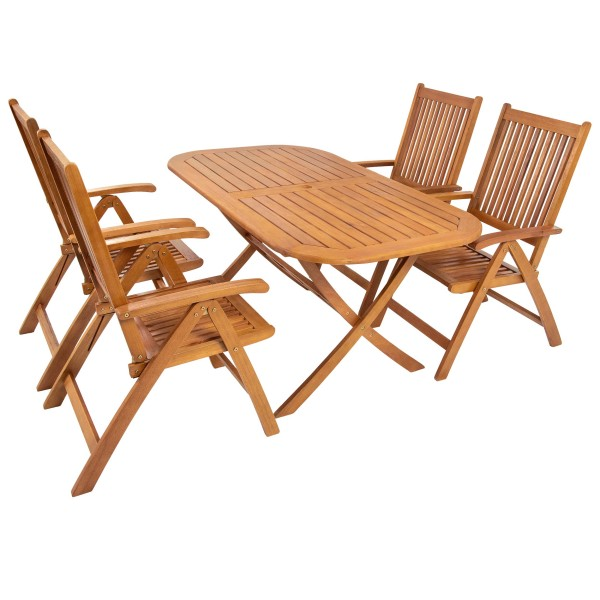 Indoba 5-teilig Gartenmöbel Set BANGOR
