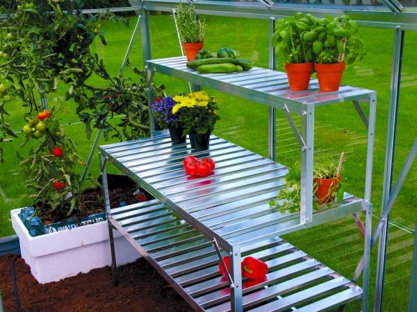 Vitavia Aluminium-Tischaufsatz