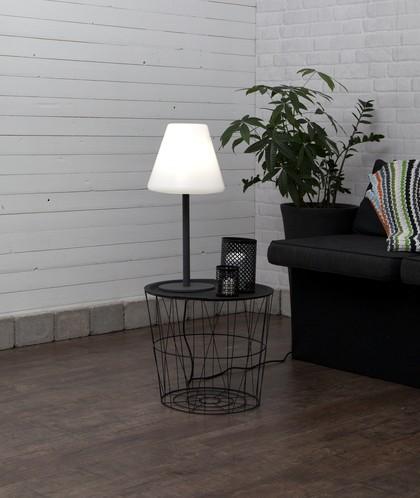 LED Tischlampe KRETA, Höhe ca. 60 cm