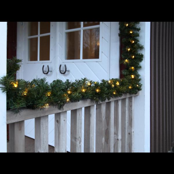 LED Girlande OTTAWA, beleuchtet, ca. 500 cm