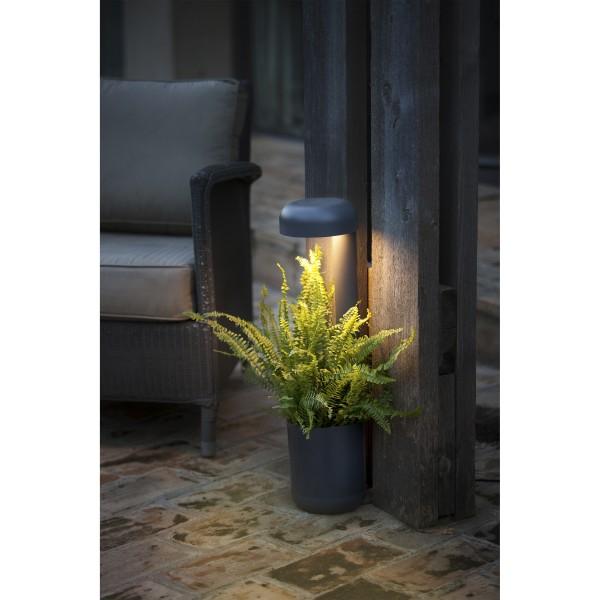 LED Stehleuchte GROW mit Blumentopf, ca. Höhe 65 cm