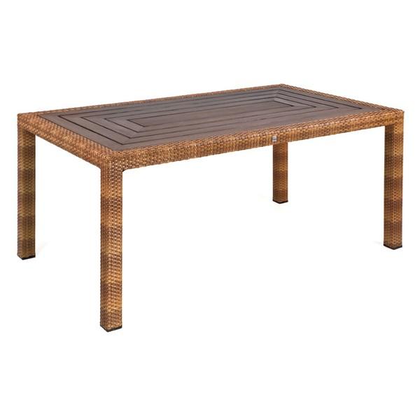 MBM Tisch Bellini Tobacco, Tischplatte Resysta Siam 90 x 160 cm