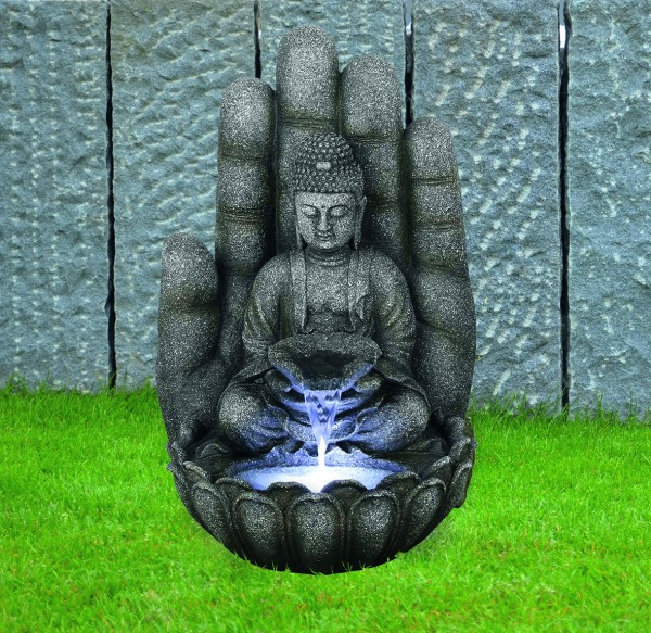 Wasserspiel Buddha Calm