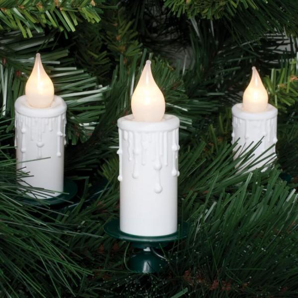 Max Pferdekaemper LED-Weihnachtsbaumkette, opal/weiß