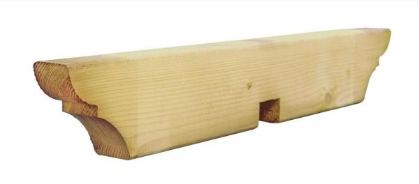 5 Stück Pergola Reiter 4,5 x 9 x 60 cm, Aussparung 7 cm, KDI
