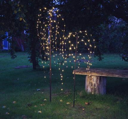 LED Trauerweide, Höhe ca. 150 cm