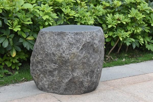 Sitzhocker Boulder für Gas Feuerstelle Vesuv