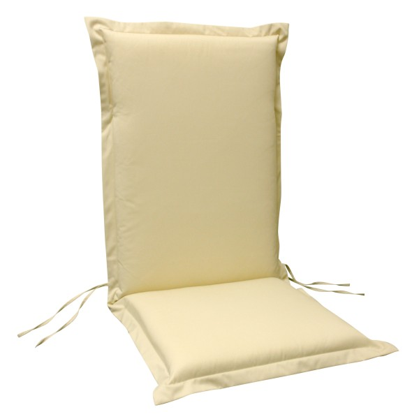 Sitzauflage Hochlehner PREMIUM, 6 Stück, beige