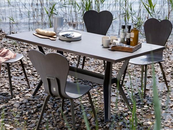 Universal Tisch mit Schirmloch, ca. 90 x 220 x 75 cm