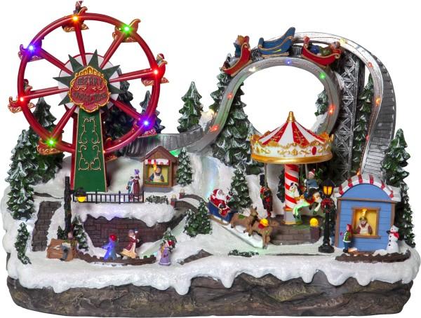 Best Season LED-Weihnachtszene LARGEVILLE