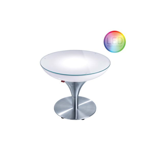 Moree Tisch Lounge M 45 LED Accu Outdoor
