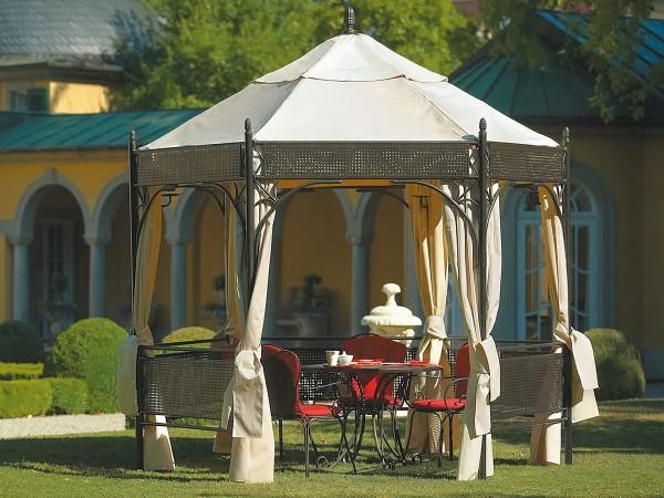 Pavillon Romeo Romantik Marone Antik 3 x 3 m