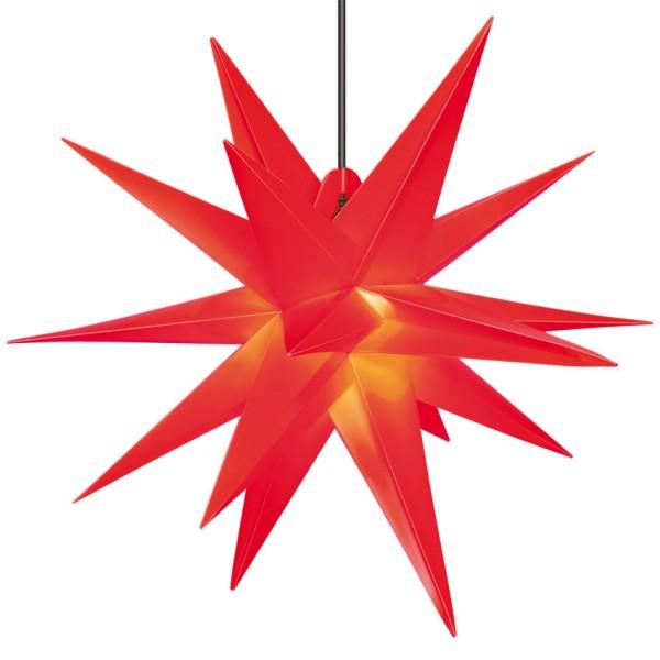 Weihnachtsstern rot rot Durchmesser: 650mm